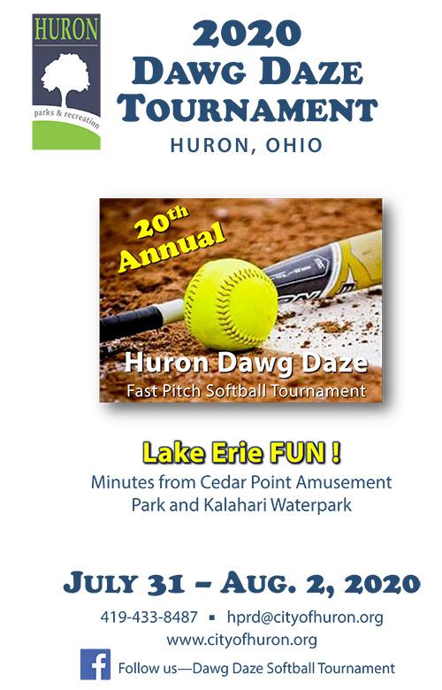 Dawg Daze Tournament :: City of Huron Ohio